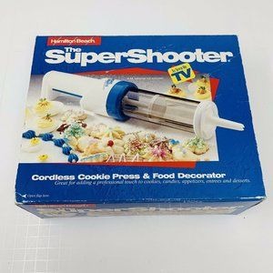 HAMILTON BEACH Super Shooter Cookie Press